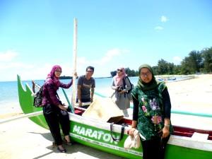 Bersama Mimi, gue, Zuwa and Nurul