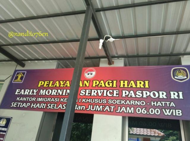 Jam Operasional pembuatan paspor_Imigrasi Bandara Soekarno hatta