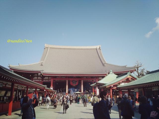 Backpacker ke Jepang Sensoji Temple Japan